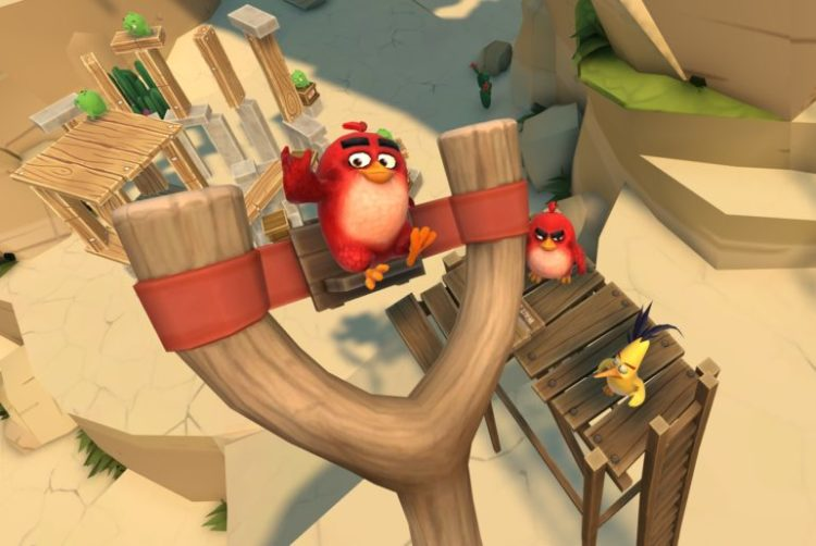 Angry Birds VR bande annonce PlayStation VR