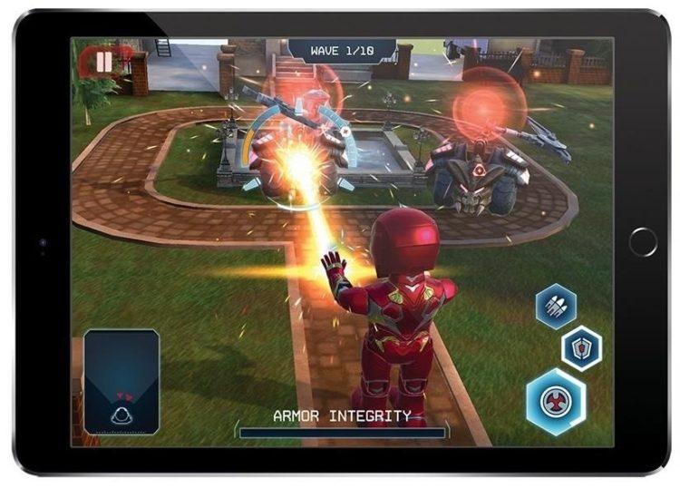Marvel robot réalité augmentée