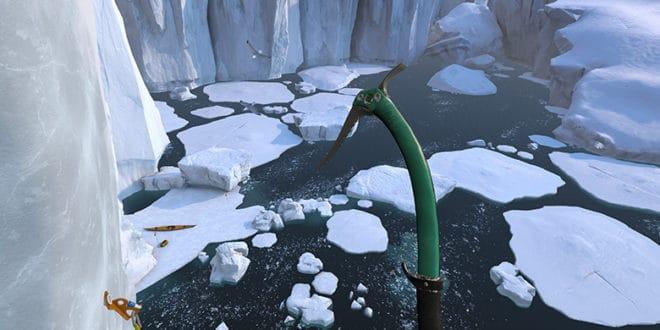 Expédition réalité virtuelle Antarctique