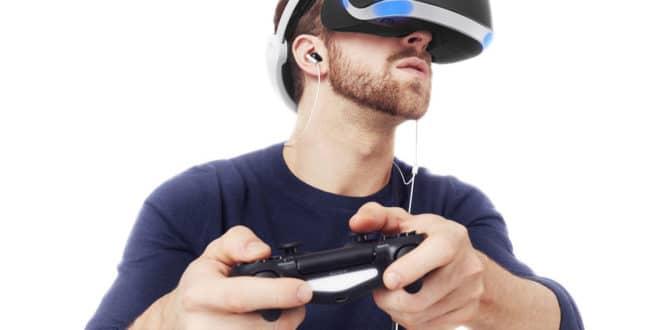 Lunettes Sony réalité virtuelle