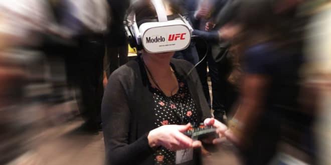 MMA réalité virtuelle