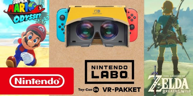 mario zelda vr switch déception