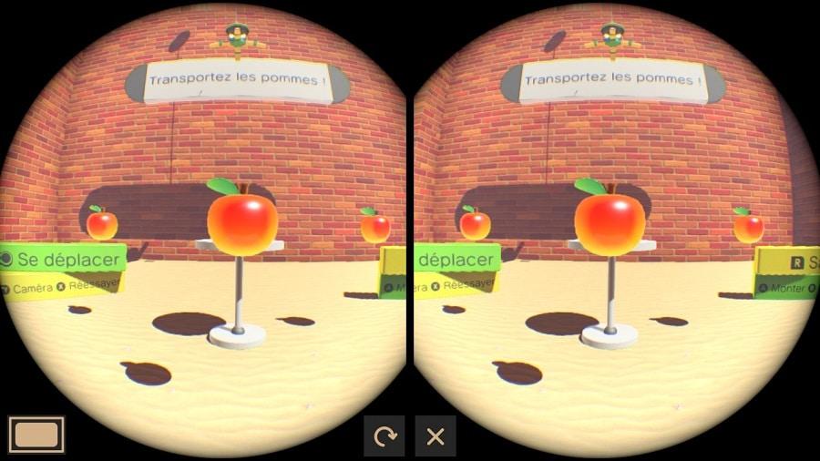 nintendo labo pomme