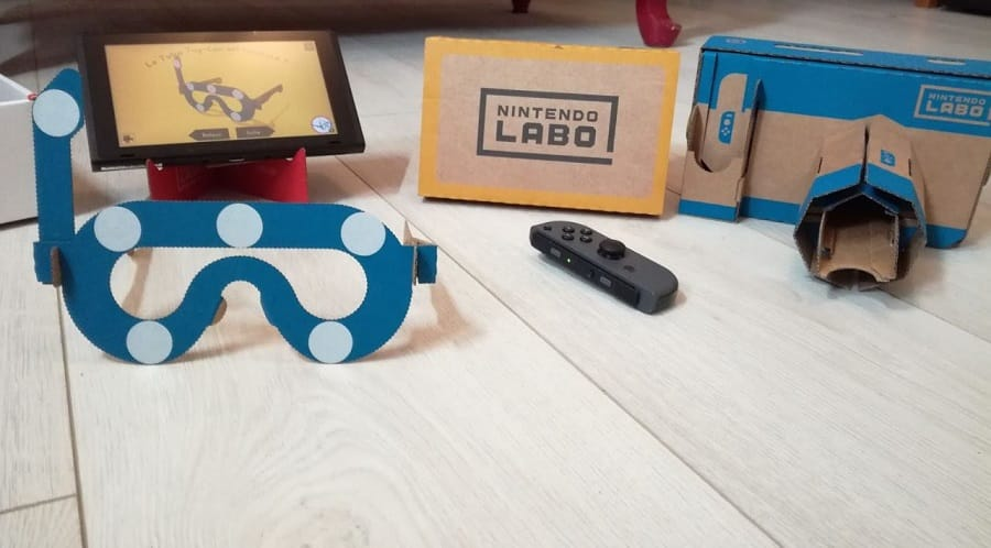 nintendo labo vr kit appareil photo