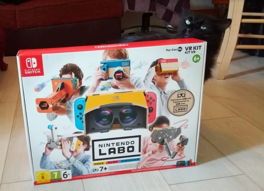 nintendo labo vr kit chat