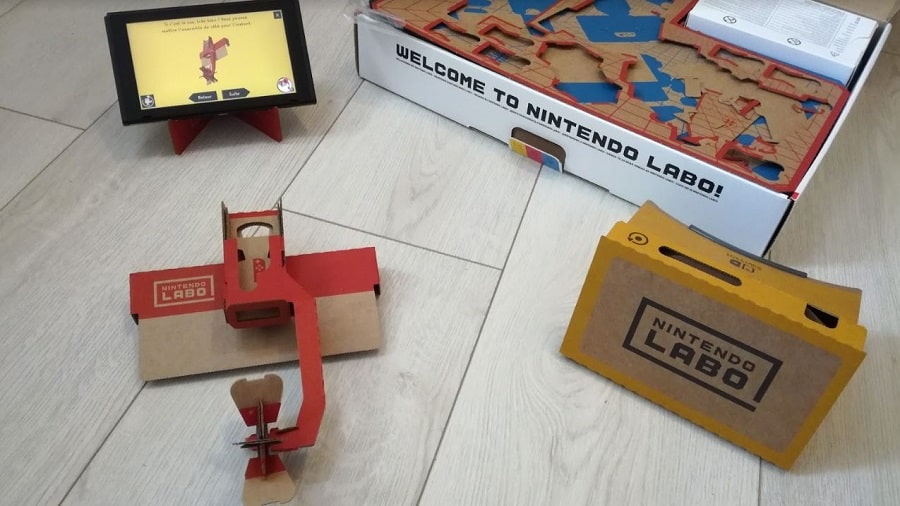 nintendo labo vr kit moulin