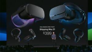 Oculus Quest Rift S précommande livraison 21 mai