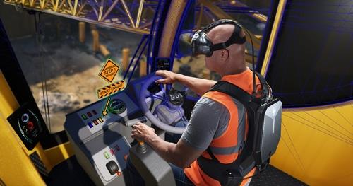 Sac à dos pour la réalité virtuelle HP
