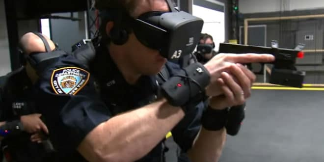 Police réalité virtuelle