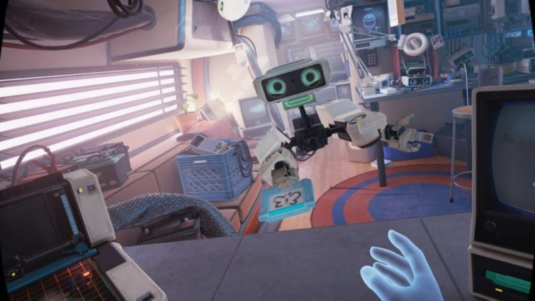 Jeux gratuits Oculus Quest First Steps