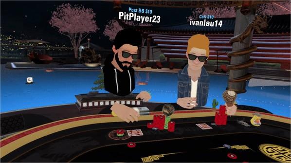 Jeux gratuits Oculus Quest Pokerstars VR