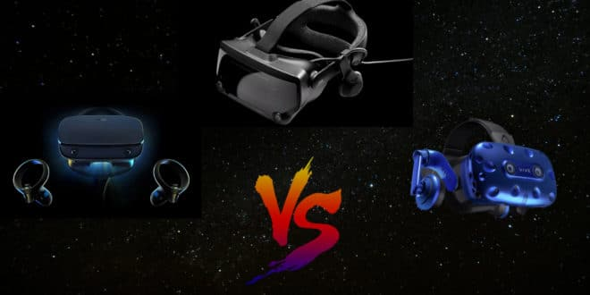 valve index vs oculus rift s vs htc vive pro comparatif casques vr pc 2019