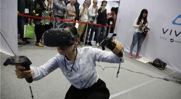 Chine réalité virtuelle augmentée