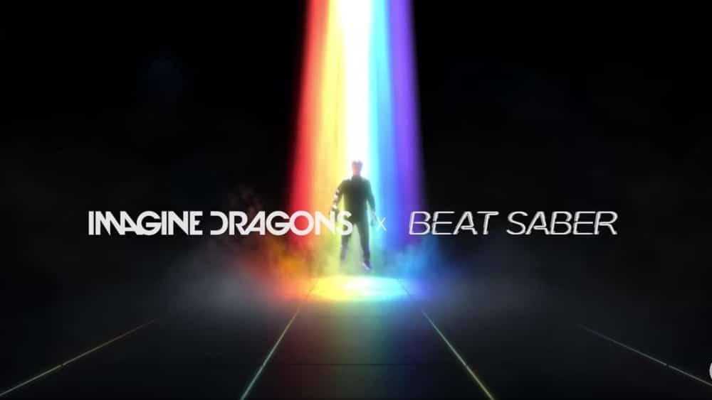 imagine dragons beat saber