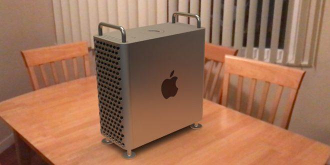 Mac Book Pro en réalité augmentée
