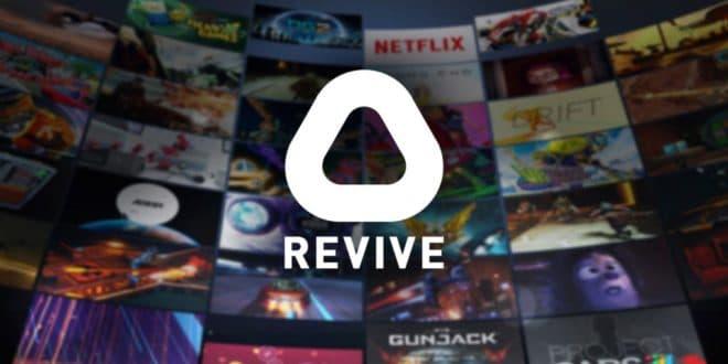 Revive Valve Index jeux exclusifs Oculus