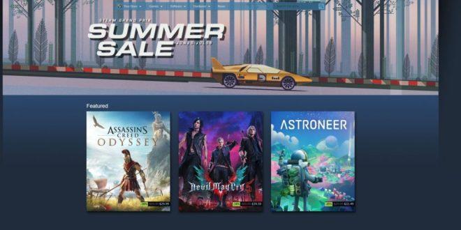 Soldes d'été Steam VR