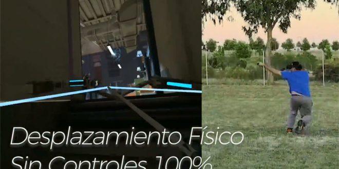Terrain de football Oculus Quest Room Scale
