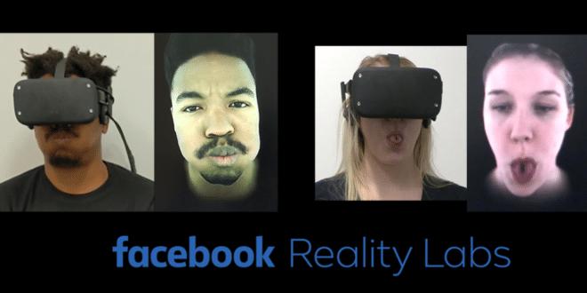 Facebook tracking du visage