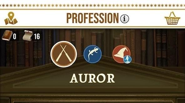 harry potter wizards unite professions différences