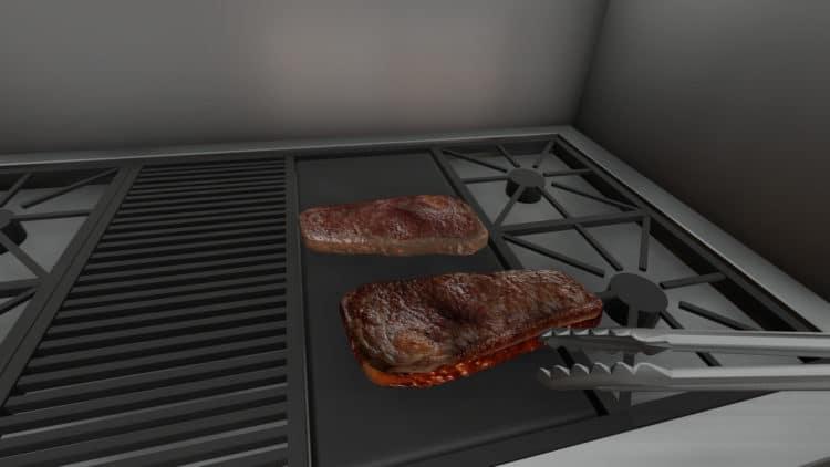 jeu de cuisine VR
