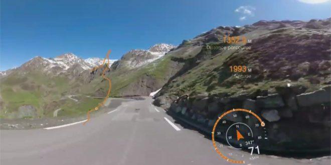 Vidéo à 360 degrés descente Tourmalet