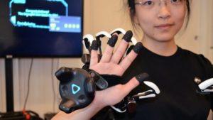 Dexmo gants haptiques