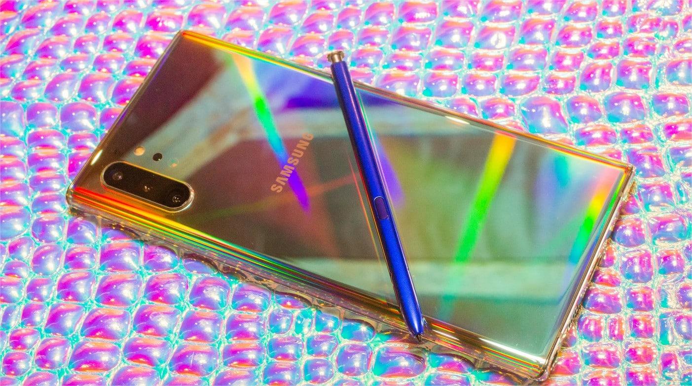 Samsung Galxy Note 10 + réalité augmentée