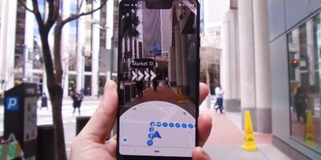 google maps live view ar