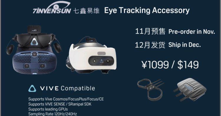 7invensun eye tracking module