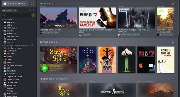 Steam : la nouvelle version en béta dès le 17 septembre