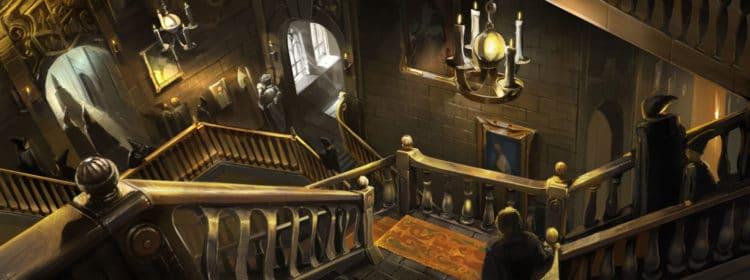 harry potter escalier