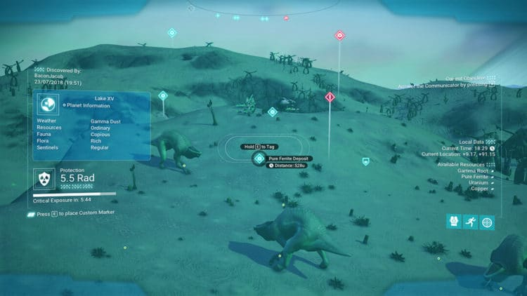 no man's sky analyse viseur