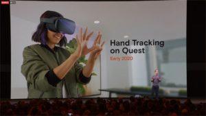 oculus quest hand tracking facebook