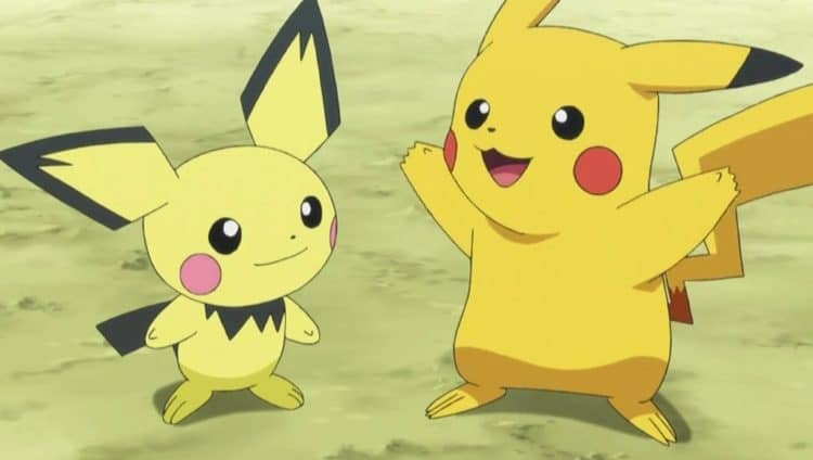 pikachu pichu shiny