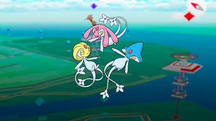 pokémon go trio lac
