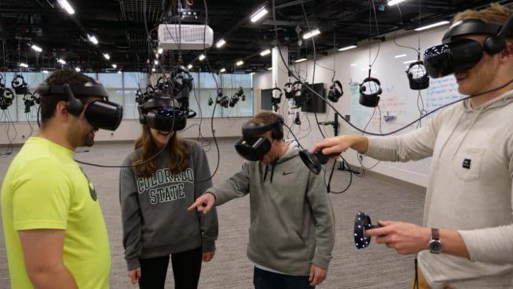 Université Colorado réalité virtuelle formation biomédical