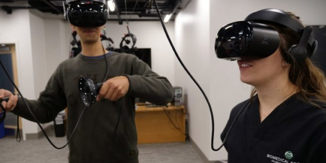 Université Colorado réalité virtuelle biomédical