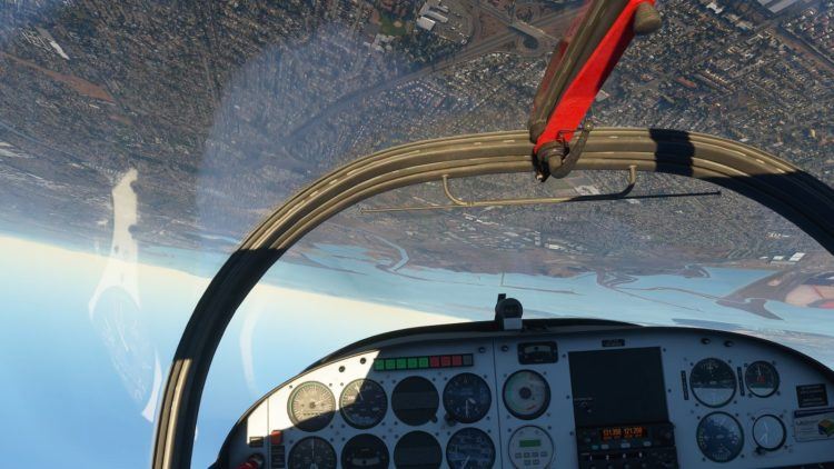 Microsoft Fliught Simulator réalité virtuelle