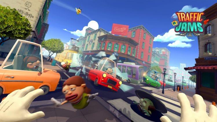 Traffic Jams jeu en réalité virtuelle