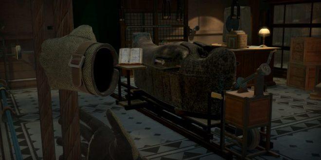 The Room VR : A Dark Matter