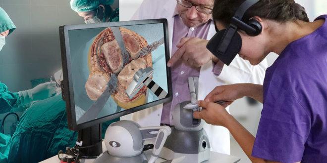 Fundamental VR chirurgie en réalité virtuelle