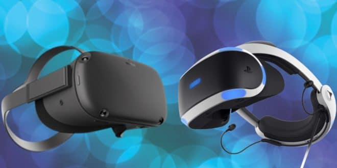 facebook vs sony casques vr