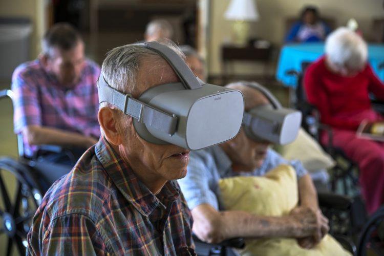 Maisons de retraite réalité virtuelle