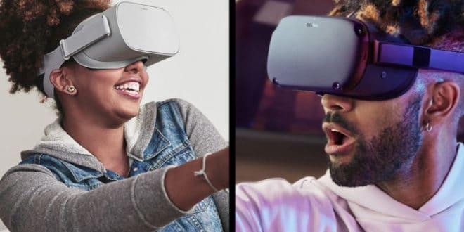 Mise à jour Oculus Go vers Quest