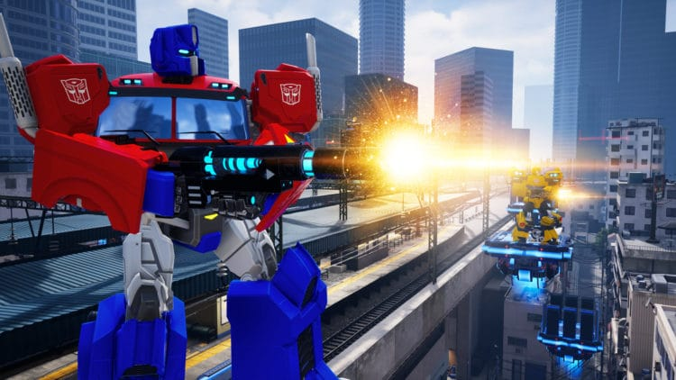 Transformers VR salle arcade