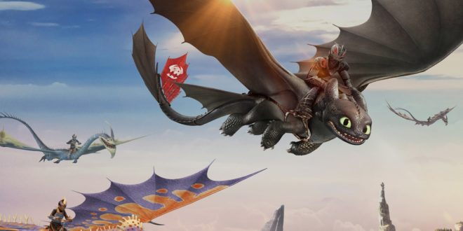 Expérience en réalité virtuelle Dragons : Flight Academy