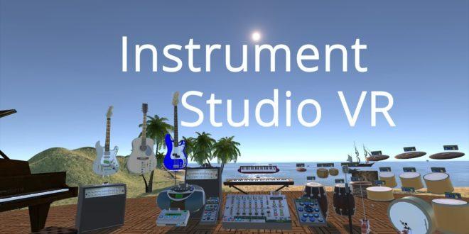 « Instrument Studio VR » vous met aux commandes d'un studio d'enregistrement