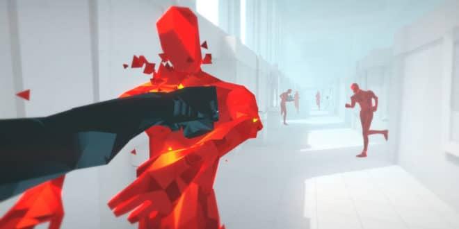 Superhot VR ventes noël