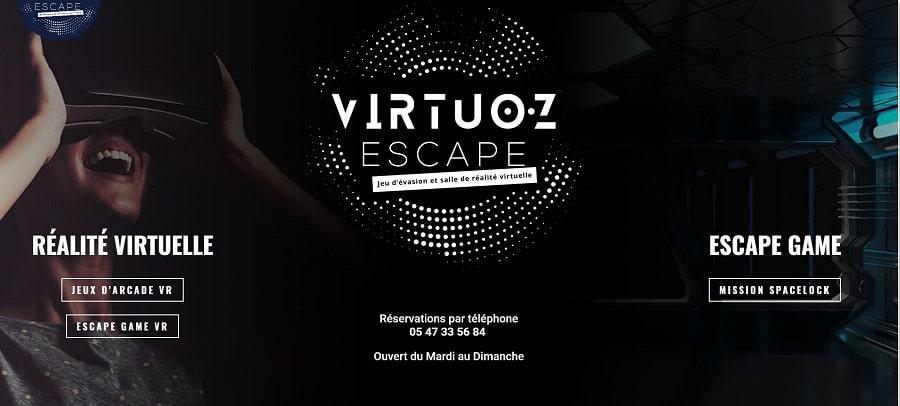 Virtuoz escape une
